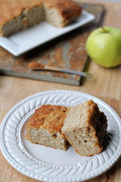 Apple Snack Cake    www.HeathersDish.com