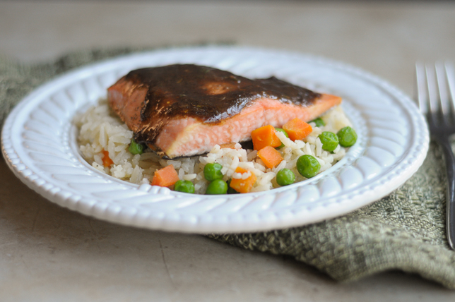 10-Minute Broiled Balsamic Herb Salmon is an incredibly flavorful dinner that's ready in a matter of minutes. Serve hot with a side salad or freshly steamed vegetables for a deliciously healthy meal.
