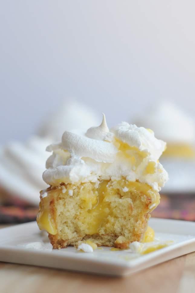 Lemon Meringue Pie Cupcakes