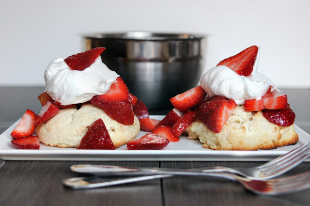 Strawberry shortcake for two plus MORE lovely strawberry recipes for Spring!