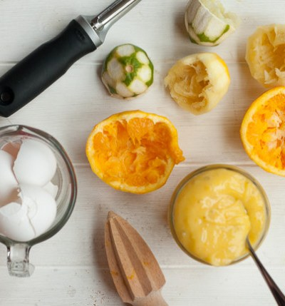 Creamy Citrus Curd recipe