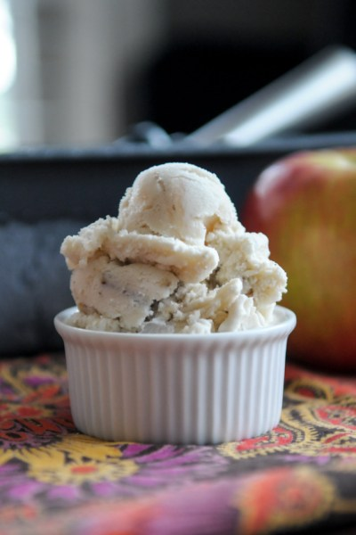 Caramel Apple Pecan Ice Cream