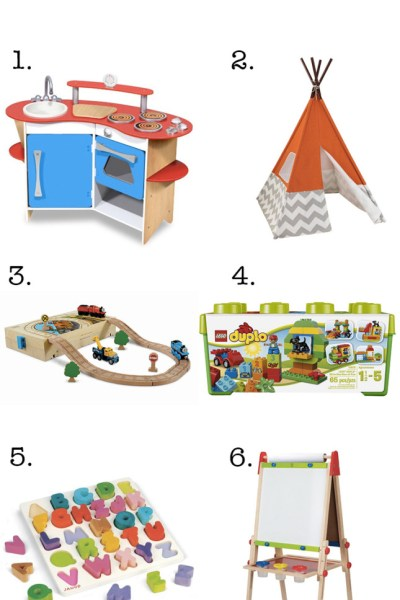 8 great educational toddler Christmas gifts for any budget!