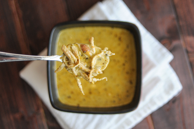 Secret Ingredient Green Chile Chicken Soup @heathersdish #healthy #eatyourveggies