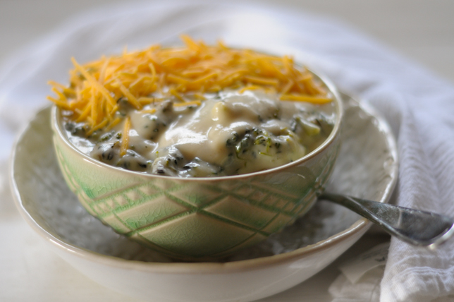 Healthy Creamy Broccoli Soup @heathersdish #healthy #healthysoup #cauliflower