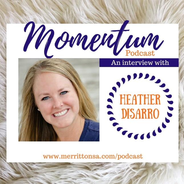 Momentum Podcast - Episode #6 with @heathersdish