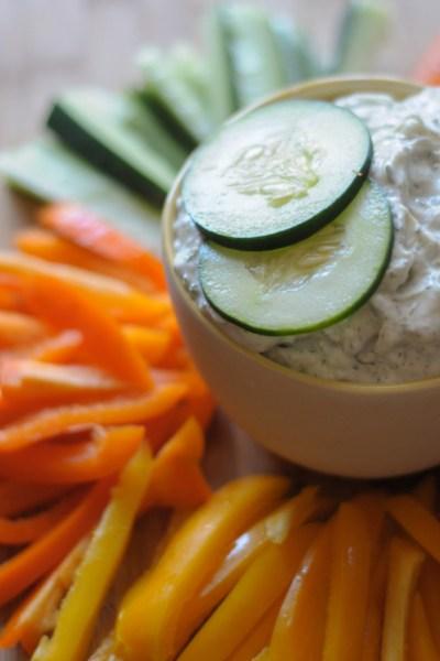 Fresh Cucumber Tzatziki Sauce