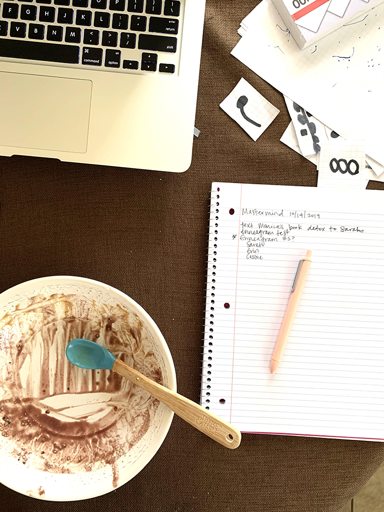A Day in the Life of an Entrepreneurial Mom: A Monday in October gives an hourly snapshot of what a real mom's schedule looks like as she balances work and motherhood. @heathersdish
