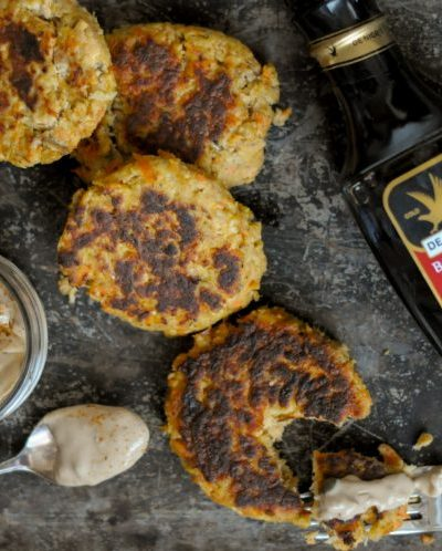 Sweet & Spicy Balsamic Salmon Cakes