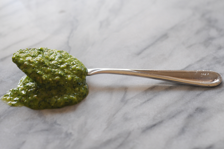 Cilantro Lime Jalapeño Pesto is the condiment lover's dream. Creamy, spicy, herbaceous, and ultimately another little black dress in your recipe arsenal. @heathersdish
