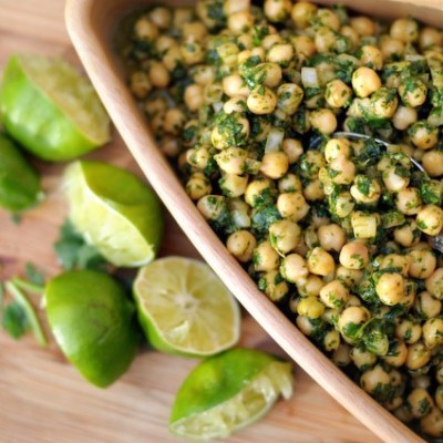 Cilantro lime chickpea salad is a vegan and clean-eating wonder that is perfect for entertaining or just eating on all week for meal prep. Packed with protein, fiber, and tons of flavor, this is one summer side that you'll want to pin and make often! Original from @heathersdish