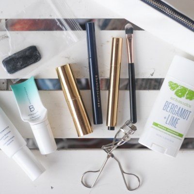 Keeping the Clean Beauty Routine on the Road