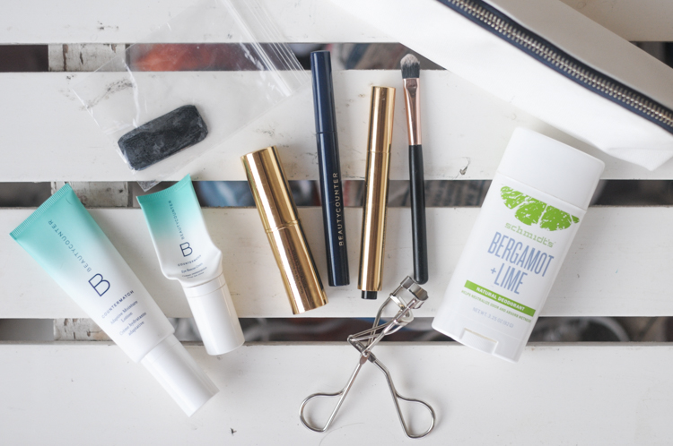 Keeping the Clean Beauty Routine on the Road @heathersdish #cleanbeauty