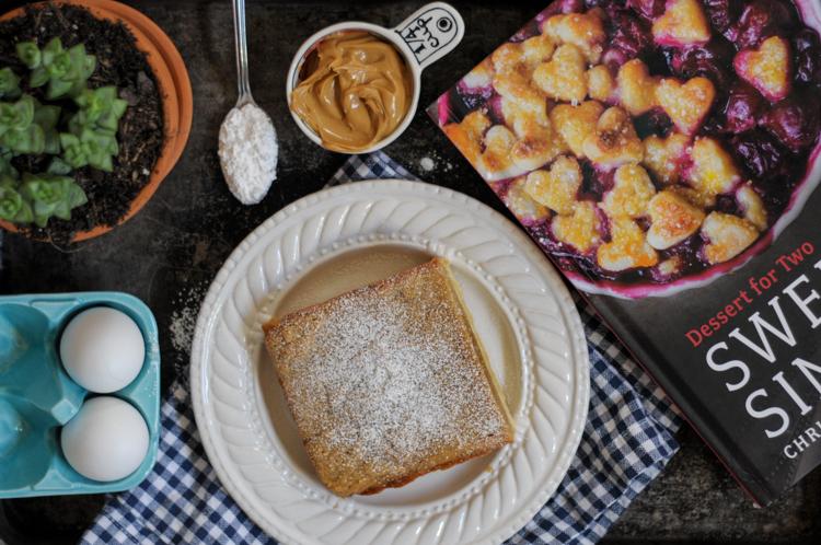 Peanut Butter Bars by @dessertfortwo #sweetandsimplecookbook