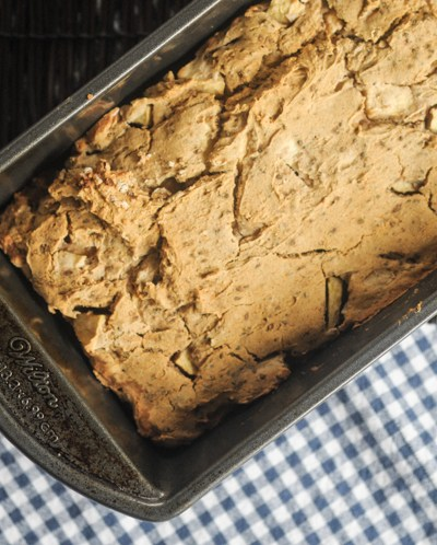 Vegan Chunky Apple Spice Bread @heathersdish