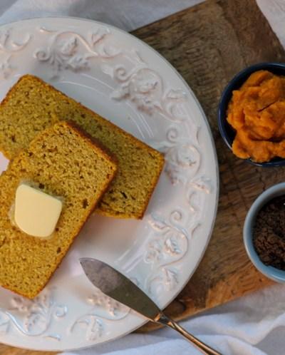 Gluten-Free Sweet Pumpkin Spice Cornbread