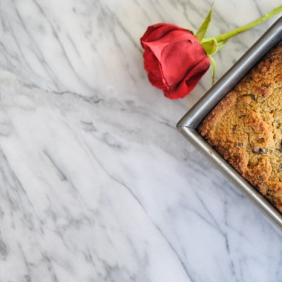 Paleo Chocolate Chip Bread is a tender, delicious bread that's healthy enough to eat any time of day. Enjoy first thing in the morning with a cup of hot coffee, or after dinner as the perfect little treat! @heathersdish #paleodessert #paleobaking #healthydessertrecipes
