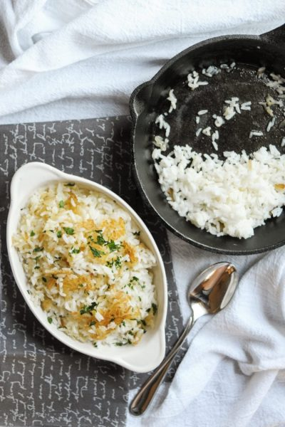 Perfect Crispy Rice