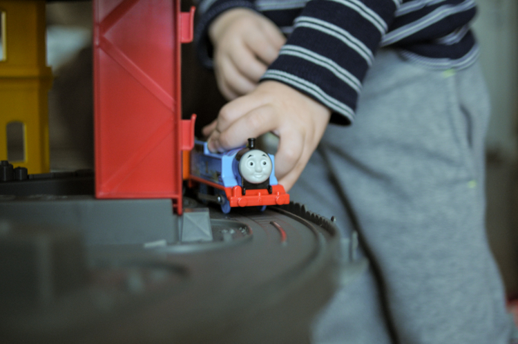Toys My Kids Love: Thomas & Friends Super Station is the perfect toy for encouraging creative play this Christmas, with all your kids favorite characters! @heathersdish #sponsored #superstationwalmart