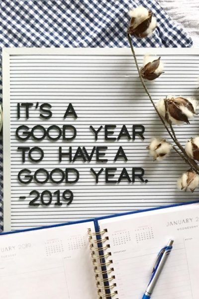 Welcome to 2019: Goals, Intentions, Resolutions & Habits @heathersdish