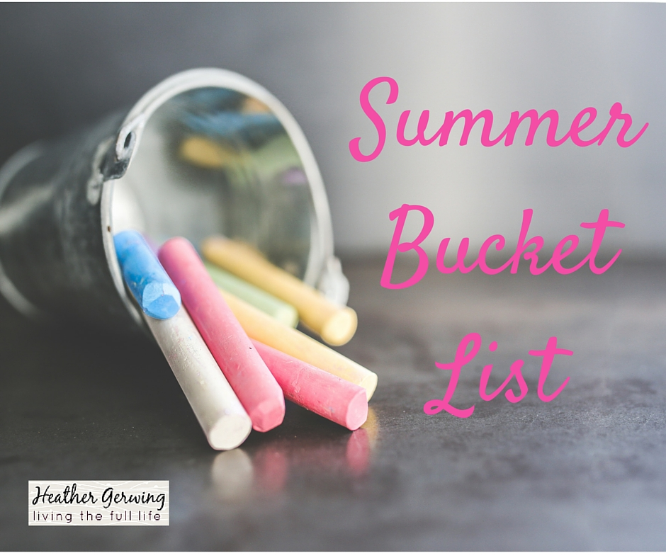 Summer – The Most Wonderful Time of the Year {Summer Bucket List}