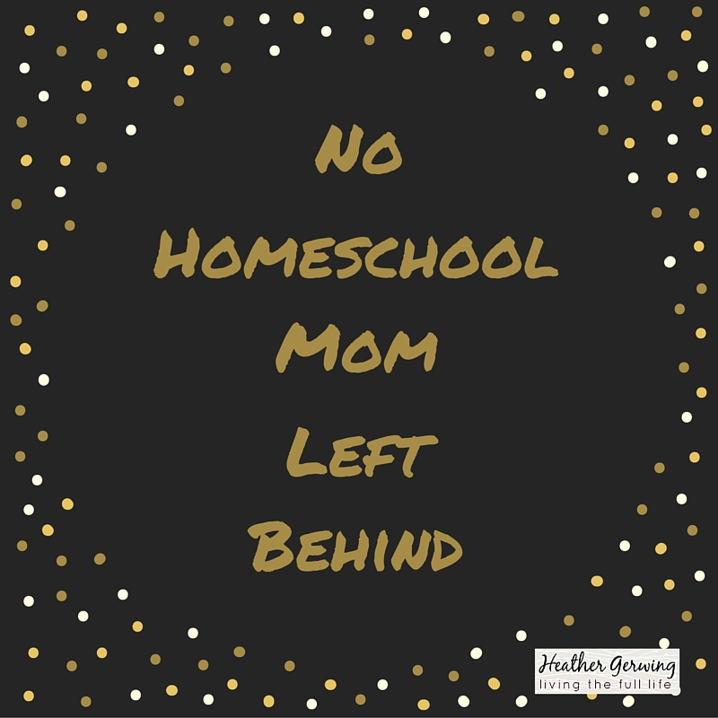 Homeschool Mom Self Care