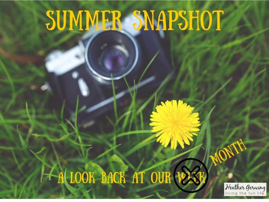 summer snapshot #13