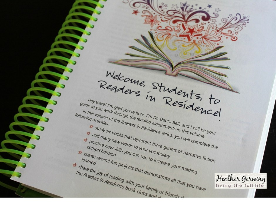 Apologia's Readers in Residence is an All-In-One Reading Curriculum!