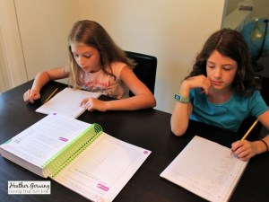 We are loving Apologia's new homeschool writing curriculum. Writers in Residence