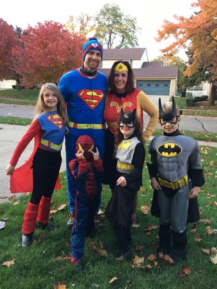 Happy Halloweeen! Super Hero Family Costume