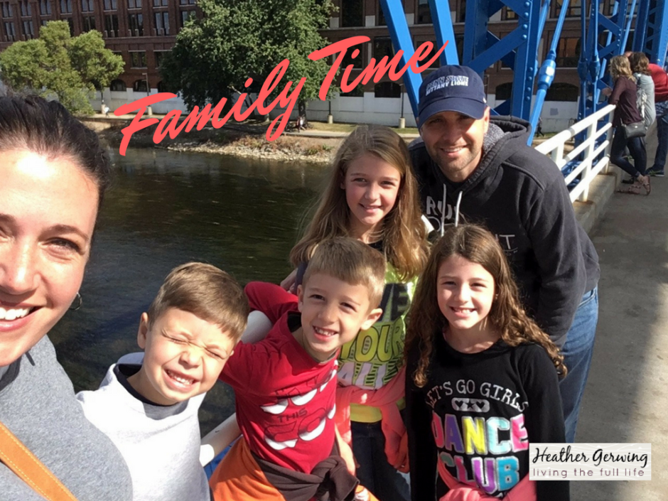Spending intentional family time together is an important aspect of #livingthefulllife #write31days