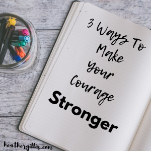 #Courage #stonger