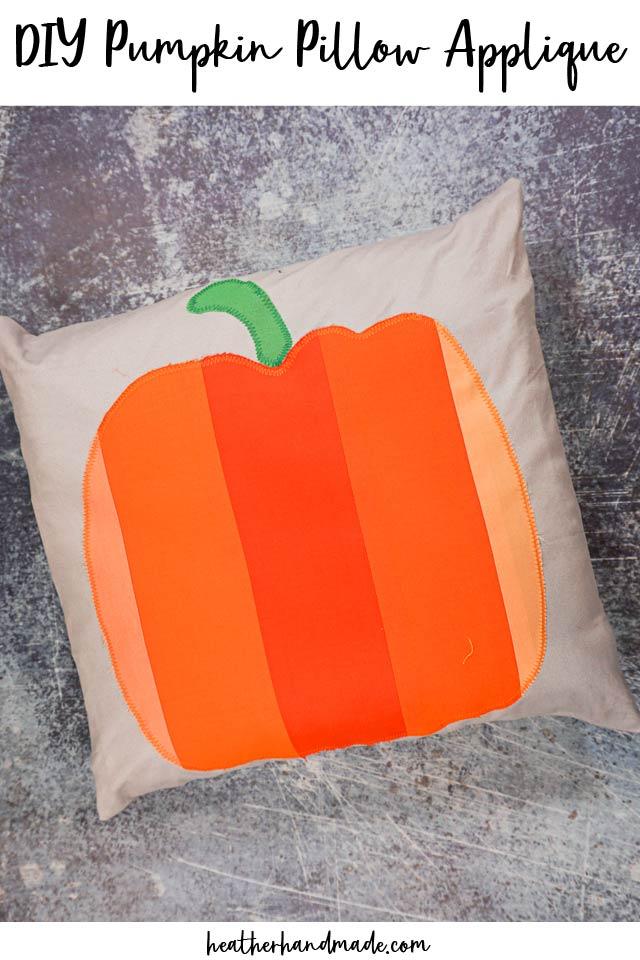 Scrap Fabric Pumpkin Pillow - Sewing Tutorial