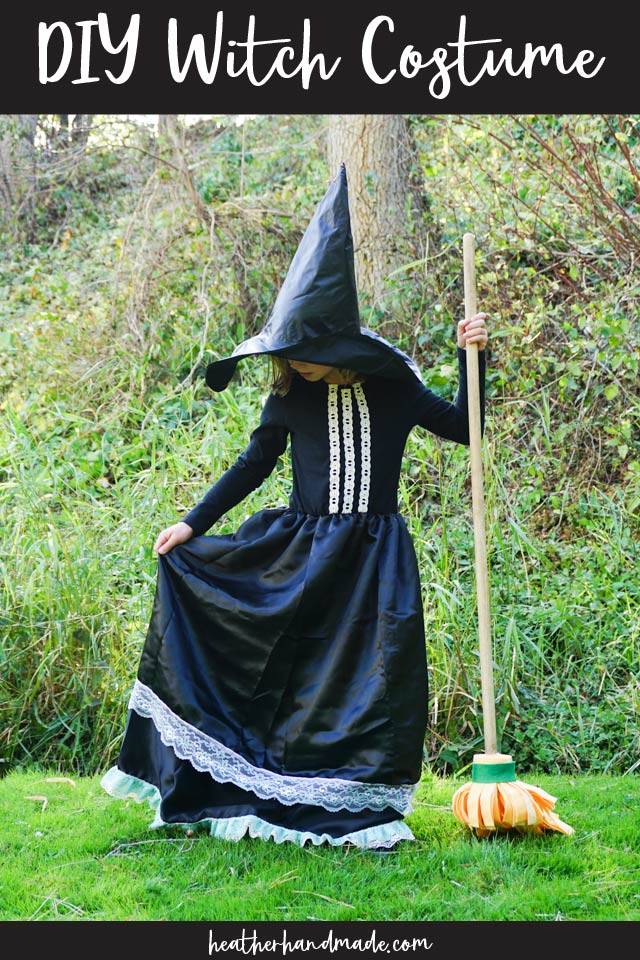 Easy Witch Costume - DIY Sewing Tutorial