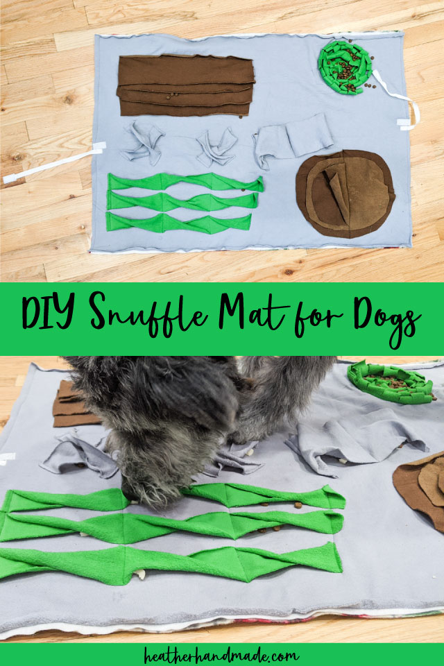 How to Make a Snuffle Mat for Dogs - DIY Sewing Tutorial