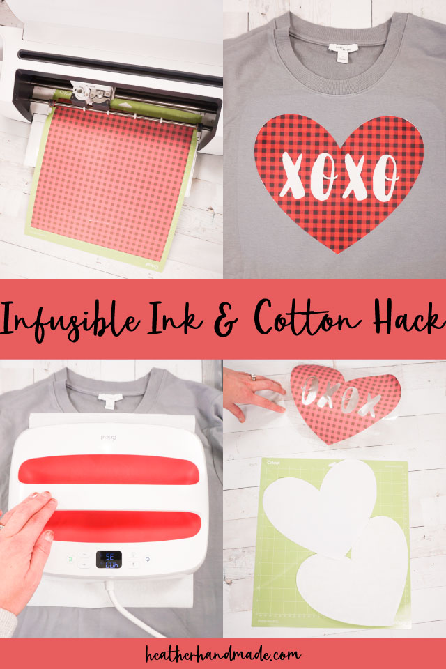 Hack to Use Infusible Ink with Cotton Fabric - Sewing Tutorial