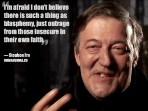 Stephen Fry on blasphemy
