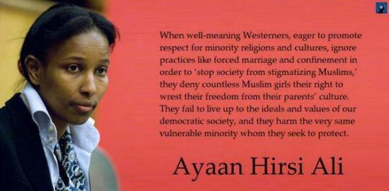Ayaan Hirsi Ali on religion