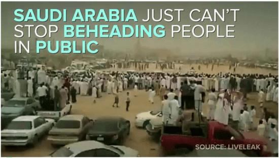 Public beheading