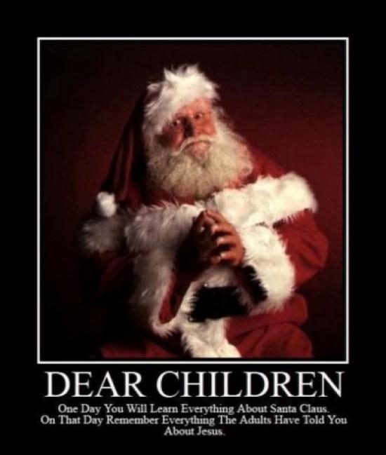 Santa on God