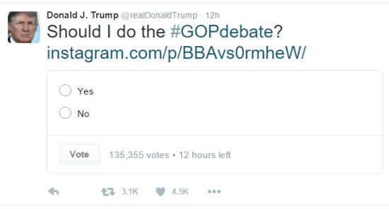 Trump tweet iowa 2