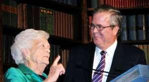 Bush, Jeb and Barbara
