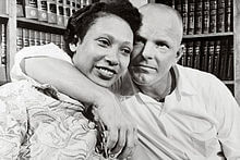 Richard and Mildred Loving in 1967.