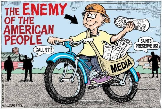 Enemy of the People cartoon