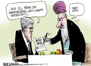 Kerry: Warmongers won't like it