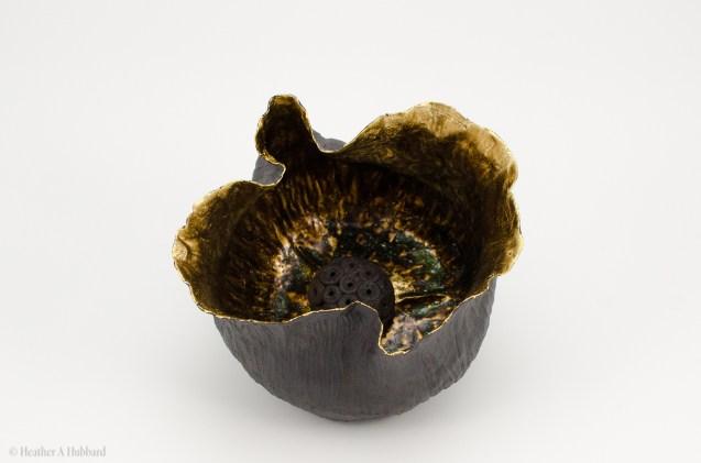 Pod with Seed II (Black), 2017