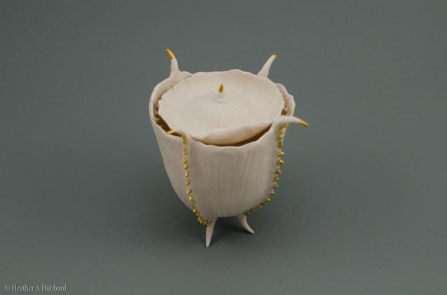 Porcelain Seed Capsule, 2017