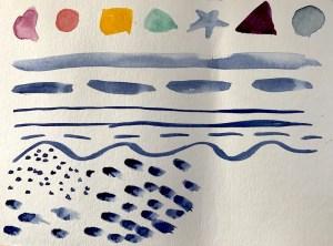 Sample-Warm-up-watercolor brush strokes