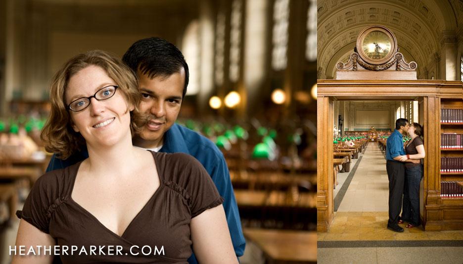 Indoor Engagement Shoot Locations Boston Wedding
