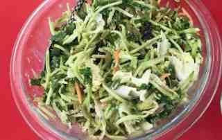 Broccoli and Kale Salad